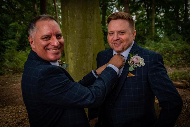Whimsical woodland wedding: Image 3
