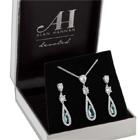 an elegant jewellery set worth £25