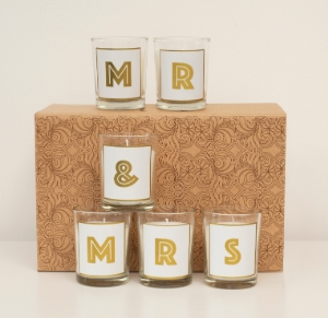 a votive candle set worth £15