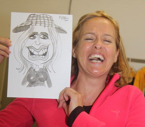 Entertainment - Entertainer Picasso Griffiths Lightning Caricaturist