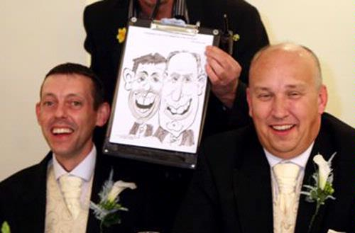 Caricatures - Entertainer Picasso Griffiths Lightning Caricaturist