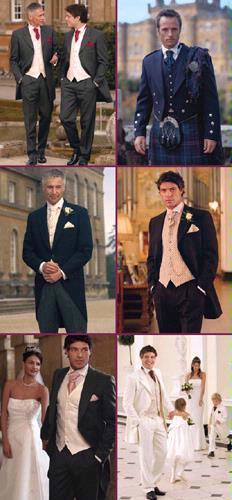 Men's Formal Wear - Dickies Suit Hire