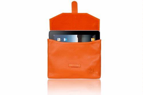 iPad envelope in leather
