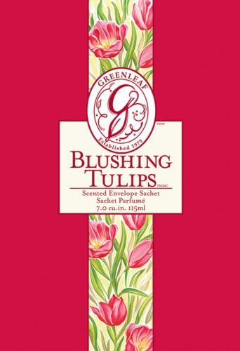 <b>Greenleaf Blushing Tulip Sachet</b>