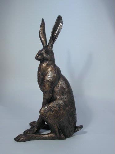 SA001 Sitting Hare - large