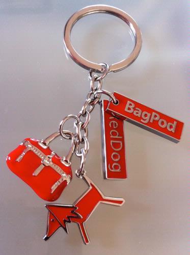 RedDog Bag Charm - Key Ring