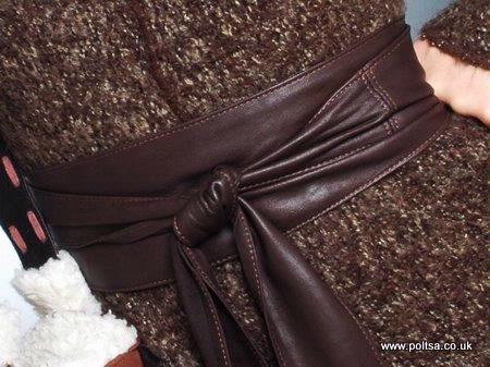 Spanish handmade obi belt, pendant scarves and coin purses