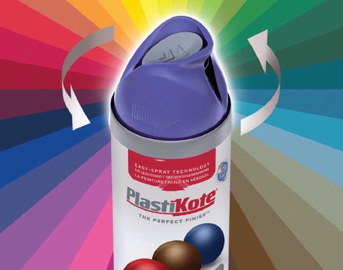 PlastiKote Twist & Spray Colour spray paint