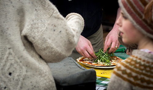 Catering - Welsh Green Weddings at Penybanc Farm