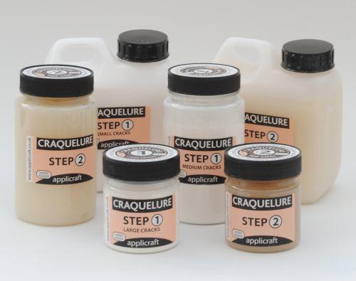 Craquelure, CrackleGlaze, Transferglaze & Decoupage, Appliglue