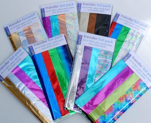 Appliglue, Textile Foils, Sparklethreads