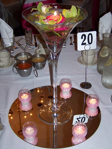 Centrepieces - Chair Covers of Hampshire Ltd