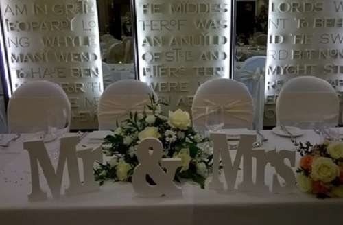 Venue Styling - Chair Covers of Hampshire Ltd
