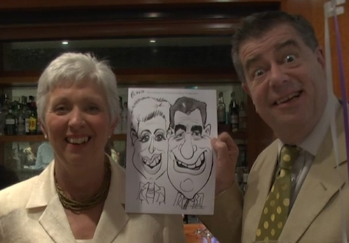 Magicians - Entertainer Picasso Griffiths Lightning Caricaturist