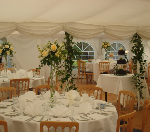 Marquees & Tents - Chichester Cathedral