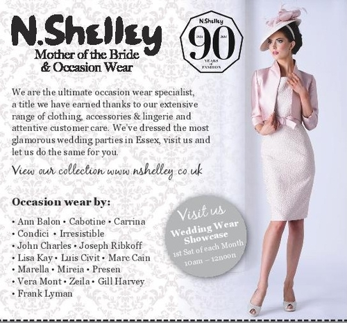 Mother of the Bride - N. Shelley of Billericay