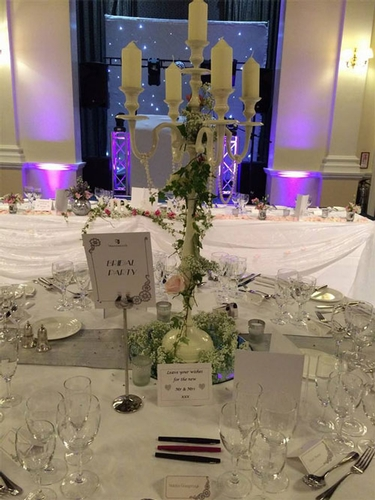 Venue Styling - Crystal Blush Events, Flowers