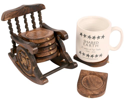 Rocking Chair Coasters