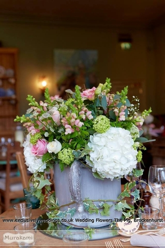 Centrepieces - Exclusively Weddings - Wedding Flowers & Venue Styling
