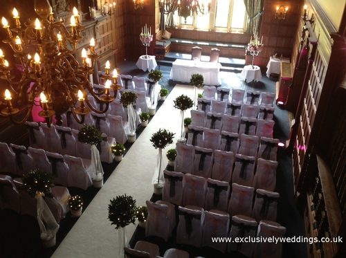 Venue Styling - Exclusively Weddings - Wedding Flowers & Venue Styling