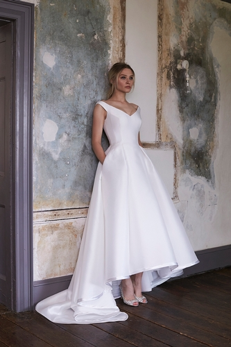 Jasmine Bridal Jade Couture Style K188054 in Iron | Fall 2016 ...