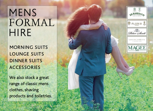 Men's Formal Wear - Hen House Brides