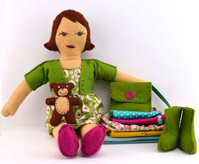 Camille Doll Craft Kit