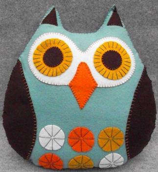 Owl Cushion Craft Kit