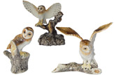 Klima miniature porcelain animals
