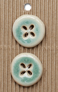 Incomparable ceramic buttons