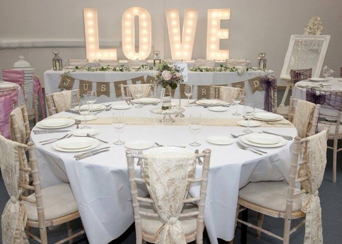 Chair Covers - Hire Your Day