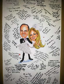 Wedding Keepsakes - Wicked Caricatures