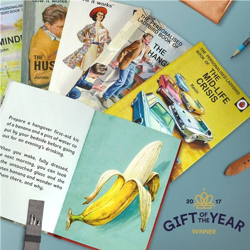 Ladybird Licenced Books for Adults