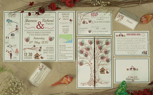 Stationery - Cat Creative, bespoke wedding stationery