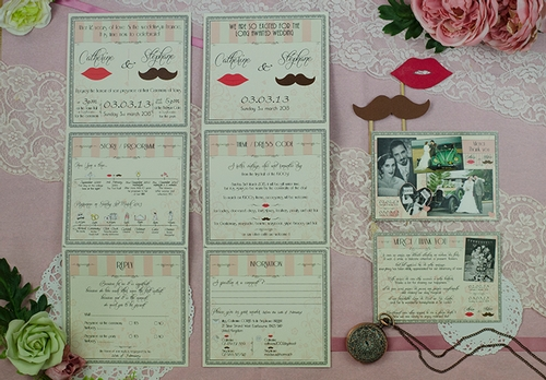 Cat Creative, bespoke wedding stationery