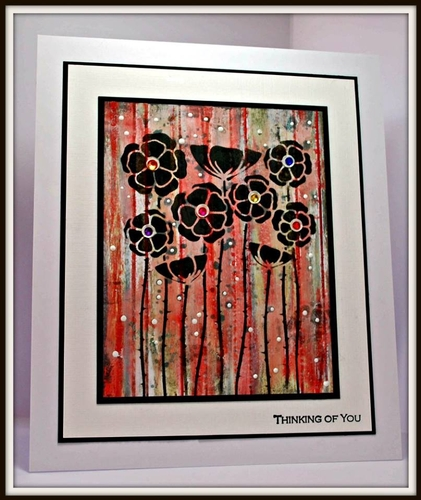 Sweet Poppy Stencils, Mediums, Mica Powders and Glitters