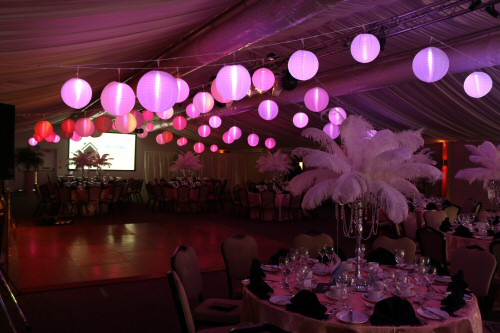 Balloons & Decoration - BDJC Events -Event Production Lighting, Décor & Theming Services