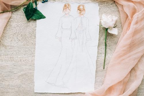 Wedding Dresses - Jessica Turner Designs