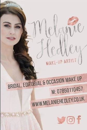 Wedding Services - Melanie Hedley Make up Artist