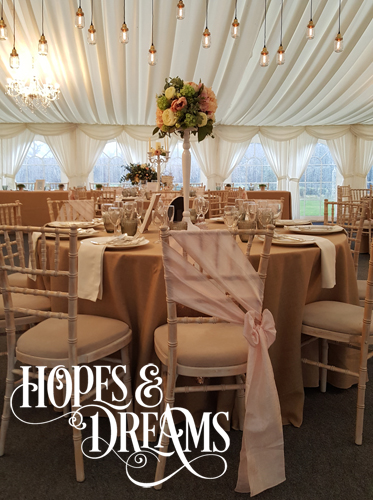 Centrepieces - Hopes & Dreams Events Limited