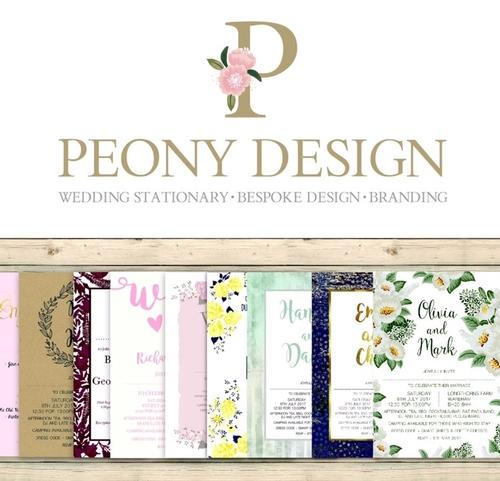 Stationery - Peony Design