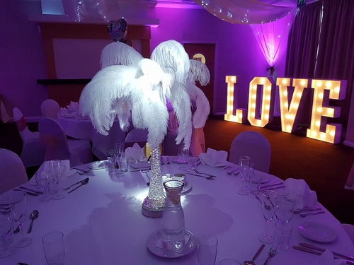 Centrepieces - Lovingly by Lesley Weddings & Events