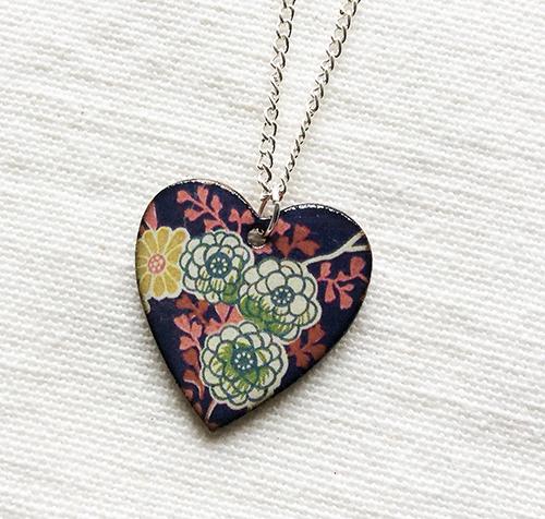 Ceramic Pendant necklaces
