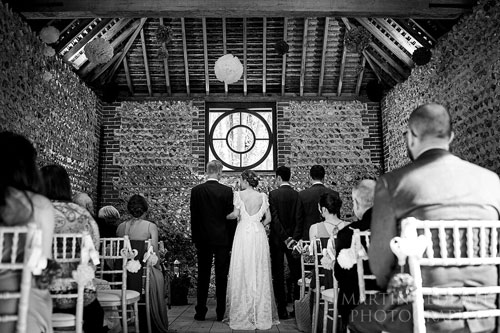 Wedding Services - Cissbury Barns