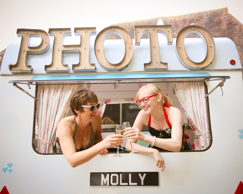 Photo & Video Booths - Molly the Vintage Caravan Photo Booth