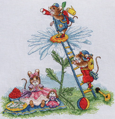 ECKLEY TALES CROSS STITCH KITS