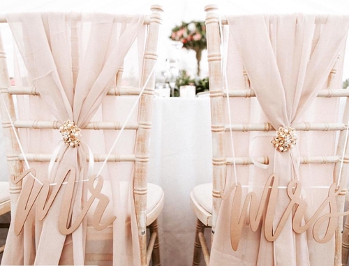 Chair Covers - Lovely Wedding Touches