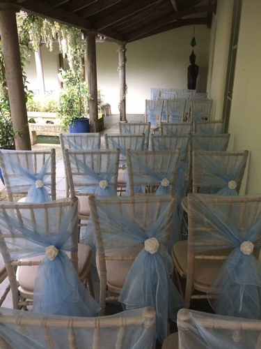 Chair Covers - Millia Events- Venue Stying