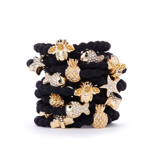 byEloise London - Black Summer Stack
