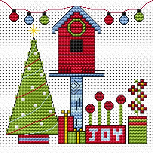 Easy Peasy, Sew Simple and Cross Stitch Card kits